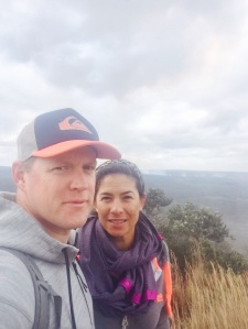 EJ & I (Volcano National Park, 2014)